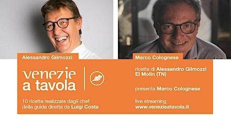 Le ricette di Venezie a Tavola | La ricetta di AlessandroGilmozzi biglietti