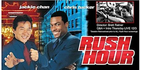 RUSH HOUR (1998): Drive-In Cinema (THURSDAY, 8:15 PM) Brett Ratner LIVE! tickets