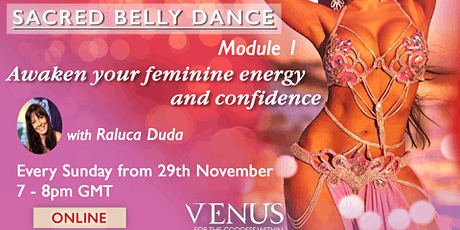Sacred Belly dance Module 1 tickets