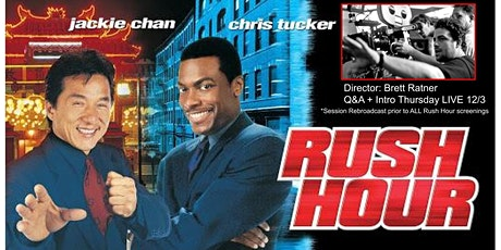 RUSH HOUR (1998): Drive-In Cinema (SATURDAY, 8:15 PM) tickets