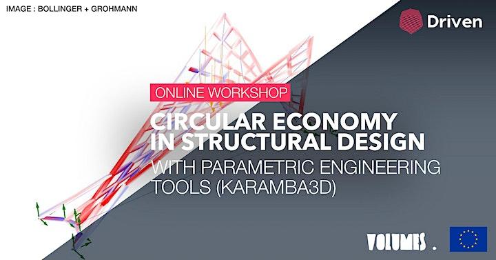 Online workshop: Circular Economy in Structural Design image