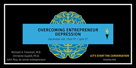Overcoming entrepreneur depression tickets