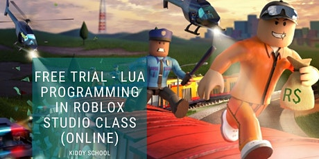 Free Trial - Lua Programming in Roblox studio Class (Online) tickets