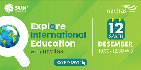 Explore International Education with Navitas - 12 Desember 2020 tickets