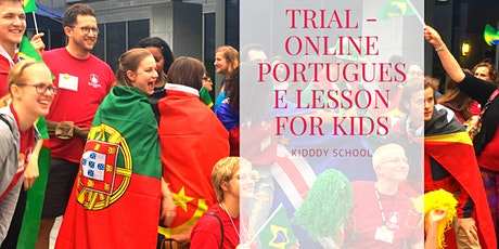 Portuguese class for kids - free trial tickets