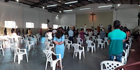 Missa presencial na Comunidade Nova Aliança - 20h ingressos