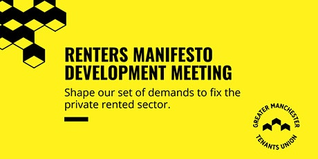 Renters Manifesto Development Meeting tickets