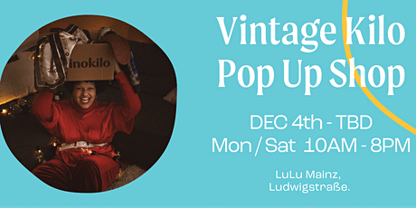 Christmas Vintage Store • Mainz • Vinokilo Tickets