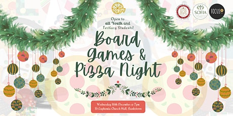 Youth Board Games & Pizza Night tickets