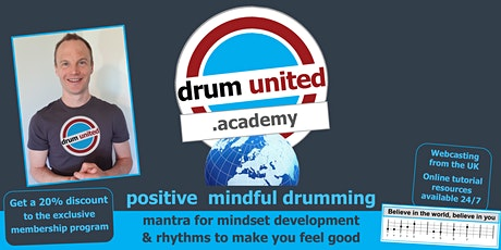 positive mindful drumming tickets