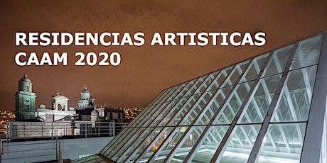 Presentación de las Residencias Artísticas 2020 entradas