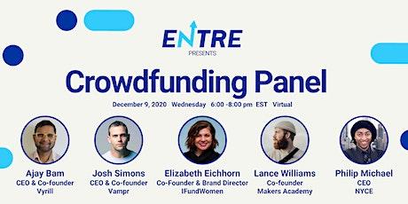 Crowdfunding Panel tickets