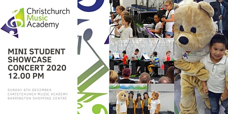 Christchurch Music Academy  Mini Concert 2020 12:00pm tickets