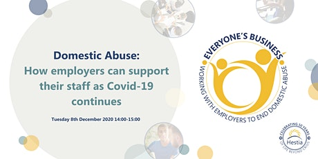 Domestic Abuse: How employers can support their staff as COVID continues tickets