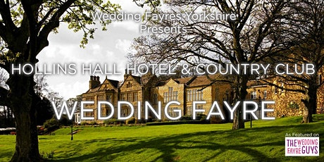 Hollins Hall Wedding Fayre tickets