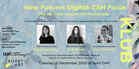 New Futures Digital: CSM Focus VIP Promenade tickets