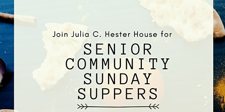 Community Sunday Suppers for Seniors - December Edition tickets