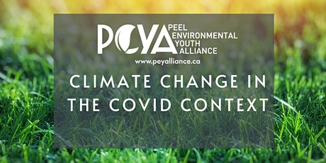 Virtual Year-in-Review: Climate Change in the COVID Context tickets