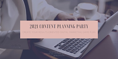 Create Your Results-Oriented 2021 Social Media Game Plan! tickets