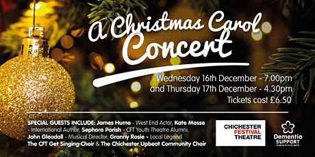 Community Charity Christmas Carol Concert - ONLINE EVENTS tickets