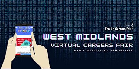 West Midlands Virtual Careers Fair tickets