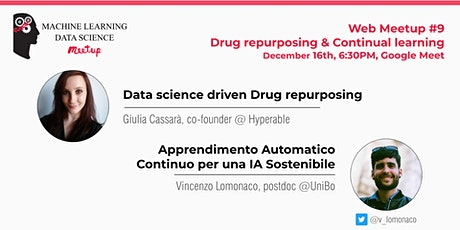 Web Meetup #9: Drug Repurposing & Continual Learning biglietti