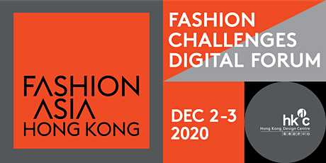 FASHION ASIA HONG KONG 2020 -  Fashion Challenges Digital Forum tickets