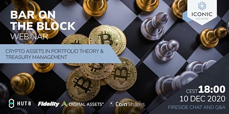 Crypto Assets in Portfolio Theory & Treasury Management tickets