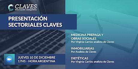 Presentación Sectoriales CLAVES entradas