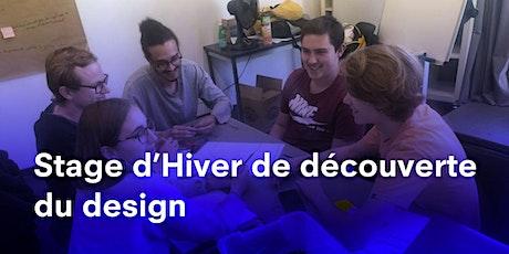 STAGE D'HIVER 2021 A PARIS, DÉCOUVERTE DU DESIGN À STRATE, ÉCOLE DE DESIGN billets