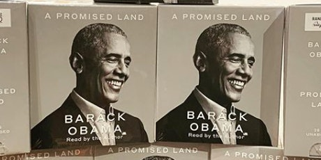 Ichinen Book Club: The Promised Land by Barak Obama tickets