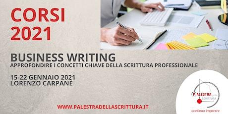 Corso di BUSINESS WRITING - Palestra della Scrittura biglietti
