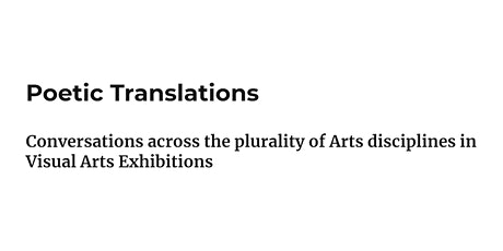 Poetic translations  Day Two - 17th Dec tickets