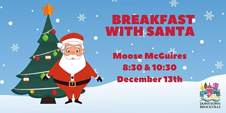 Breakfast with Santa at Moose McGuire's 10:30am December 13th tickets