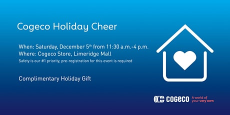 Cogeco Holiday Cheer tickets