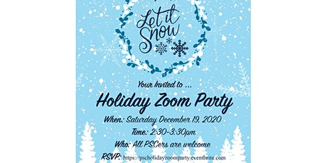 PSC Holiday Zoom Party tickets