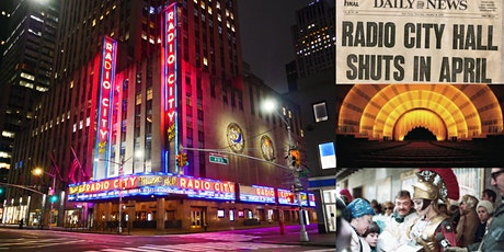 'Saving Radio City Music Hall, NYC's Great Art Deco Masterpiece' Webinar tickets