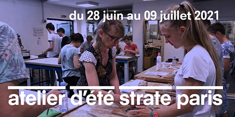 L'ATELIER D'ÉTÉ À STRATE PARIS - 28/06 au 09/07/2021 - DÉBUT JUILLET 2021 billets