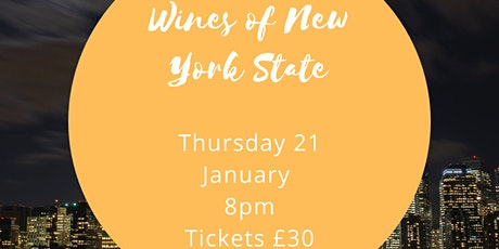 Wines of New York State with Love Wine tickets