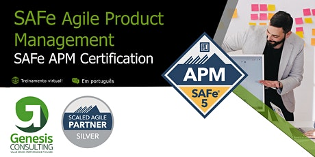 SAFe Agile Product Management  Live OnLine - Português ingressos