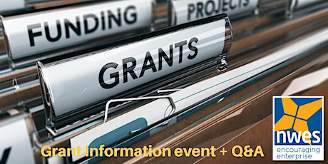 Covid grant funding - information talk and Q&A tickets