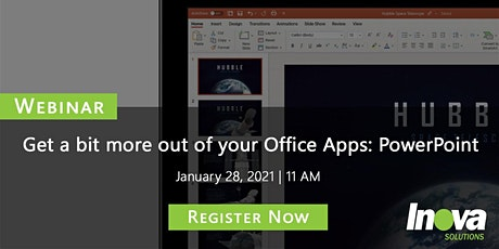 Get More Out of Your Office Apps | Webinar tickets