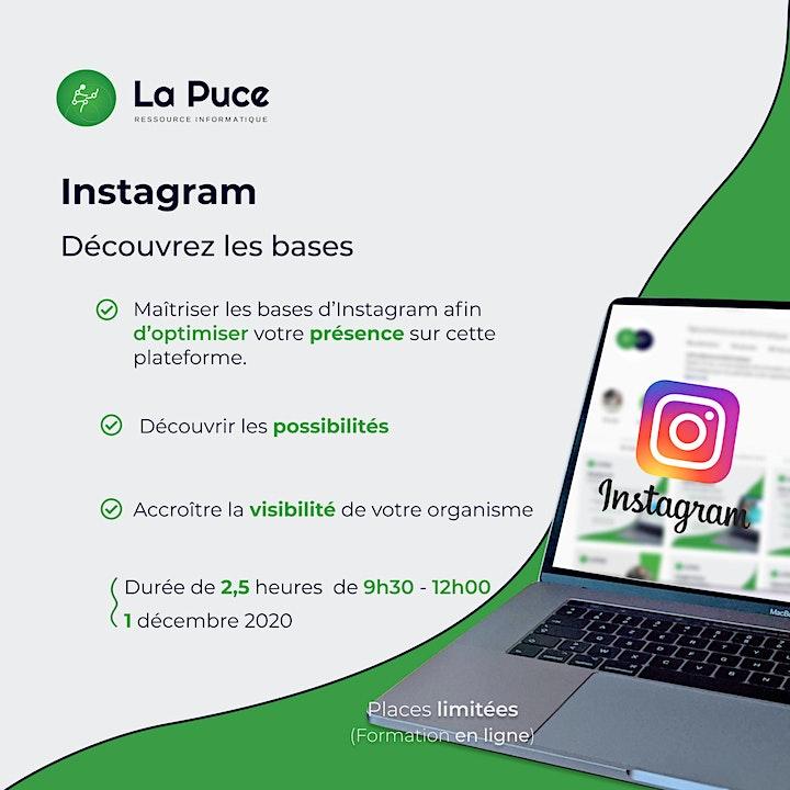 Image de Instagram – Découvrez les bases ( Formation en ligne)