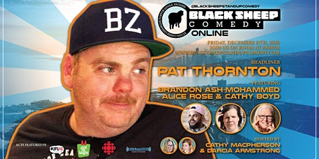 Black Sheep Comedy Online Featuring Pat Thornton tickets