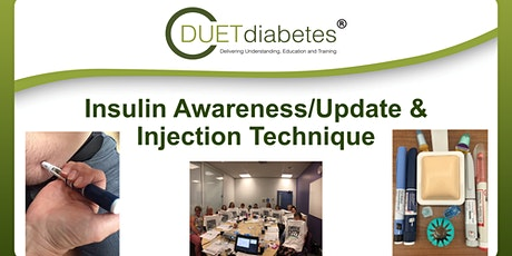 Insulin Awareness/Update & Injection Technique Workshop tickets