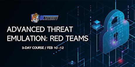 Advanced Threat Emulation: Red Teams biglietti