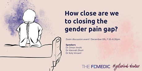 How close are we to closing the gender pain gap? tickets