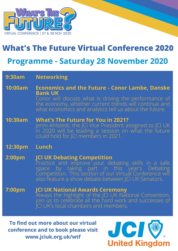 What's The Future?  Virtual Conference 2020 image