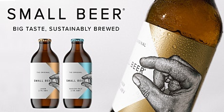 Virtual Brewery Tour & Beer Tasting with Small Beer tickets