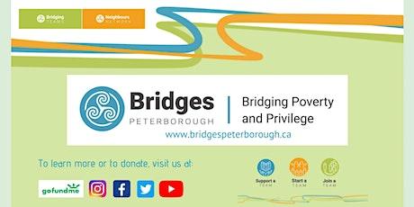 Bridges Peterborough Virtual Launch Event - Come Celebrate with us! tickets
